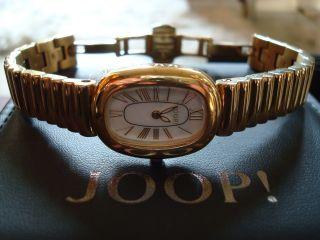 Joop Damenuhr Vintage Jp100422f07 Gold Edelstahl Perlmut Uhr 239,  - Etikett Bild