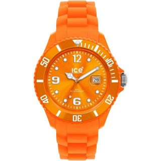 Ice Watch Ss.  Nyw.  U.  S.  12 - Ice Watch Uhr In Orange Mit Spardose Neu&original Bild