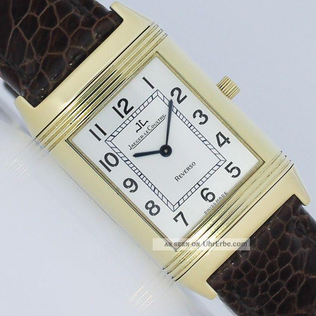 Jaeger - Lecoultre Reverso Classique Handaufzug Gold Uhr Ref.  250.  1.  86 Armbanduhren Bild