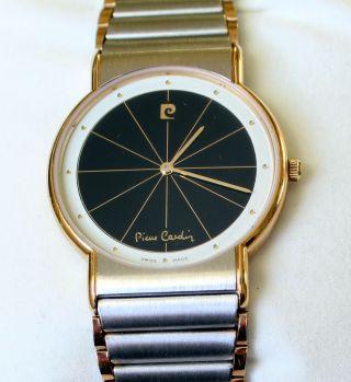 Pierre Cardin Chromachron Armbanduhr Nos Bild