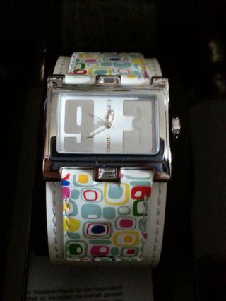Bruno Banani Armbanduhr Damenuhr Calista Br20917 Leder Mit Box Bild