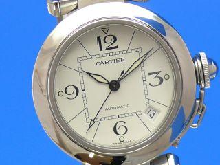 Cartier Pasha 35 Mm Automatik Damen Ankauf Auch Von Ihrer Luxusuhr Möglich Bild