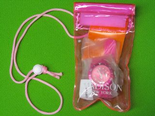 Madison York Neon Pink Candytime Silikonuhr Trendyarmbanduhr Like Ice - Watch Bild