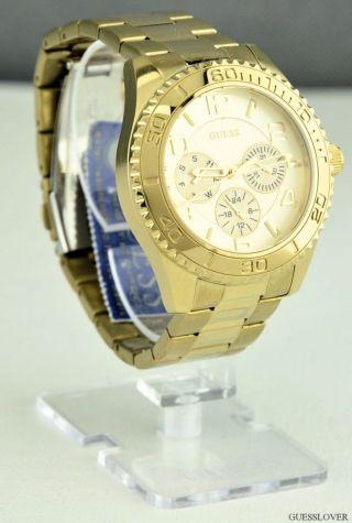 Uhr Guess Gold Edelstahl Analog Damen U0231l2 Deu Bild