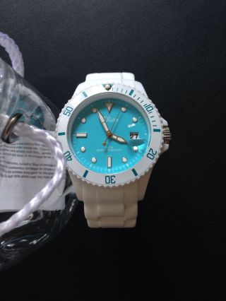 Damenuhr Armbanduhr S.  Oliver Weiß Blau Bild