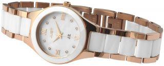 Just Keramik Damen Uhr 48 - S0347wh - Rg Weiß Rose Golden Armbanduhr Bild
