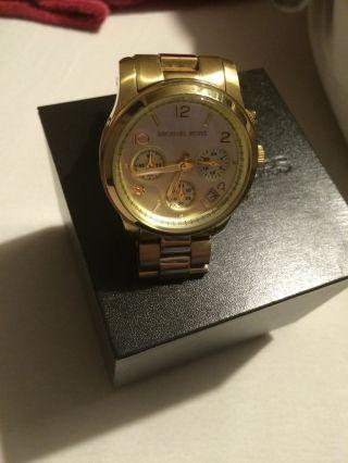 Damenarmbanduhr Michael Kors Mk5055 Gold Bild