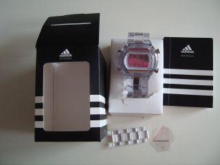 Adidas Damenuhr Armbanduhr Uhr Digital Neuwertig Bild