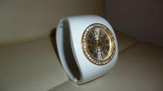 Damen Armbanduhr Rivage Weiß Schön Verziert Tolles Weihnachtsgeschenk Bild