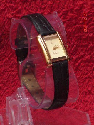Bellux Quartz Damenuhr (vergoldet Mit Diamant),  Batterie Bild