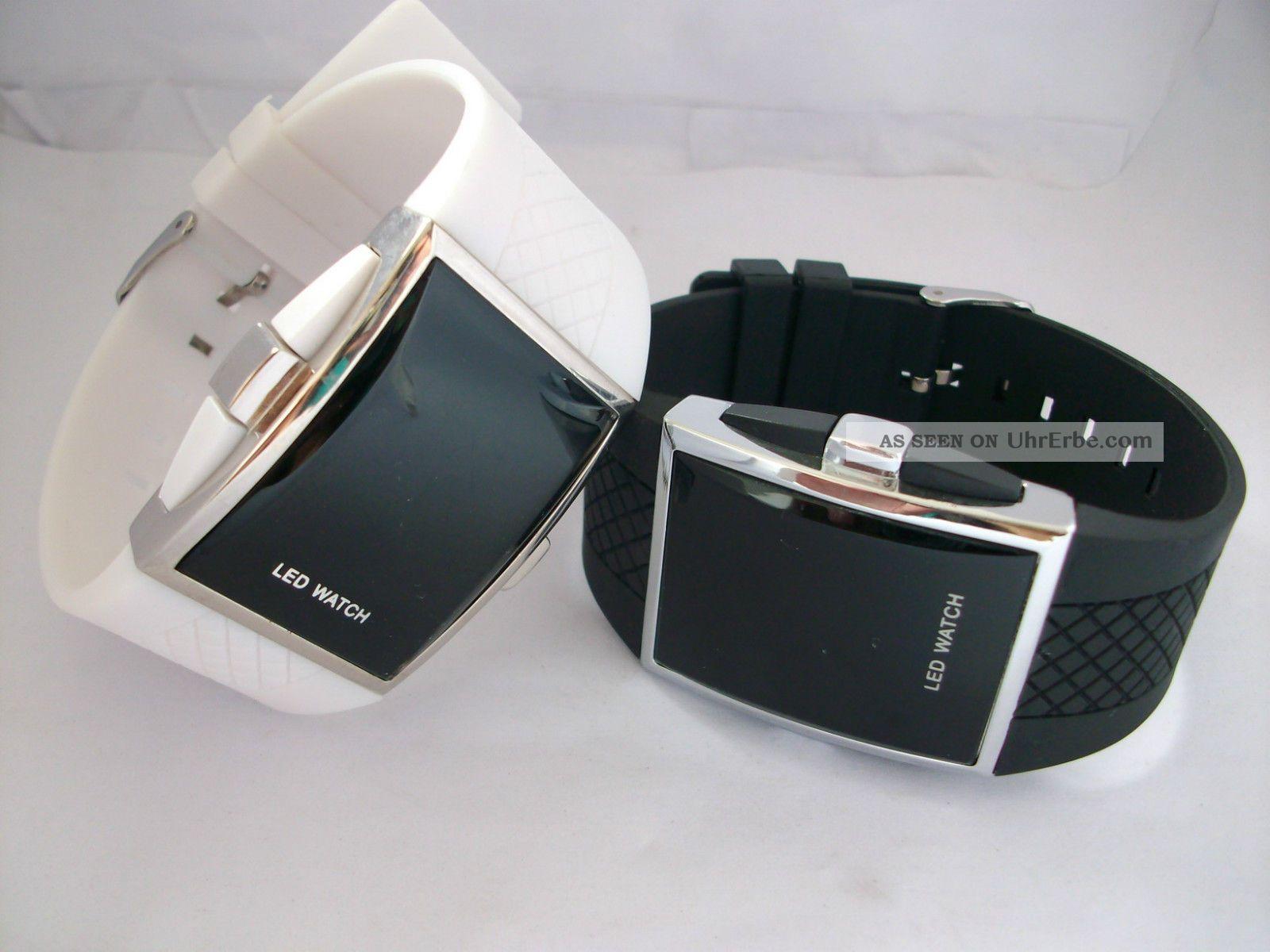 intercrew blackeagle armbanduhr mit roter led. Black Bedroom Furniture Sets. Home Design Ideas