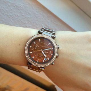 Michael Kors Uhr,  Braun,  Selten Bild