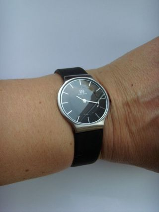Damenuhr Uhr Danish Design 3324406 Lederband Dänisches Design Iv13q732 Bild