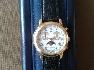Maurice Lacroix Chronograph Mondphasenuhr Mit Etuie Bild