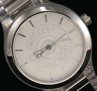 Dkny Damenuhr / Damen Uhr Kunststoff Transparent Ny8167 Bild