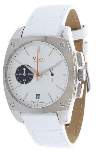 Misaki Damen Armbanduhr Weiß Chronograph Qcrwmc98wsil Bild