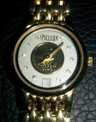 Damen Quartz Uhr 999,  9 Feingold Ziffernblatt Bild