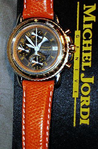 Michel Jordi Ethno Automatik - Chronograph No.  2 Limitierte Auflage Mit Zertifikat Bild