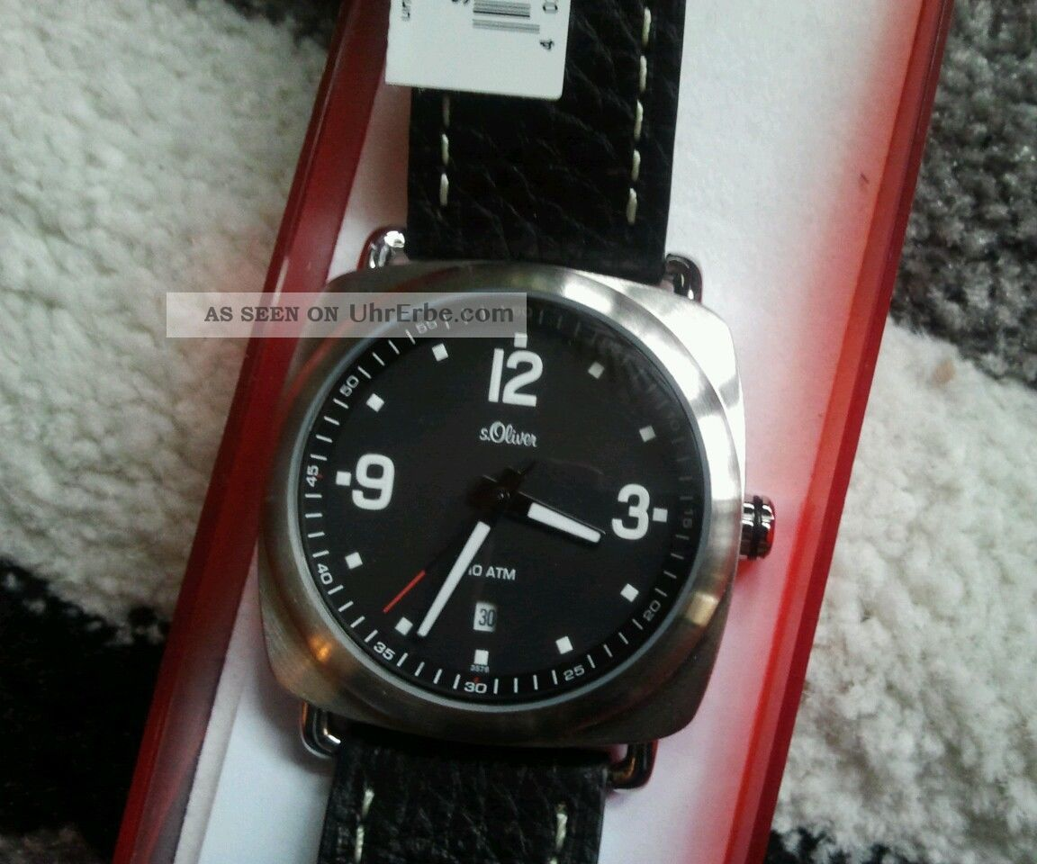 S.  Oliver Uhr - In Ovp - Retro Lifestyle - Boho Armbanduhren Bild