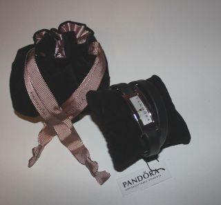 Pandora Damenuhr Doppelarmband Leder Double Oblong 812063ls Bild
