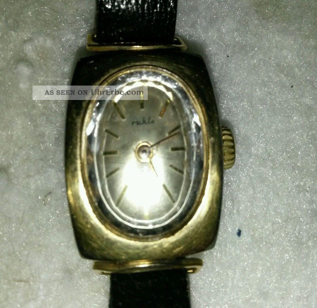 Ruhla Damenuhr Armbanduhren Bild