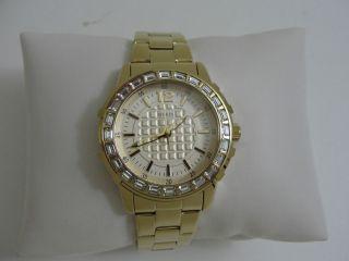 Guess Damen Uhr Girly U0018l2 Gold Glitzer Bild