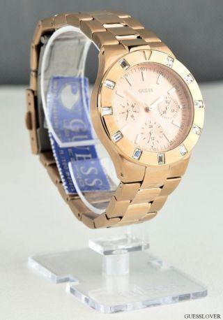Uhr Guess Gold Edelstahl Damen Neuf U13013l1 Deu Bild