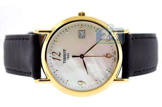 Schweizer Armbanduhr Tissot T - Gold Carson,  18k Gelbgold,  Damen/herren,  T71.  3.  489.  74 Bild