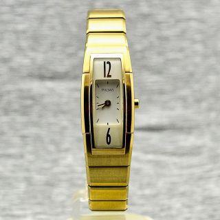 Damenuhr Pulsar Pj5124x1 Vergoldet Damenarmbanduhr Quarz Uhr Bild