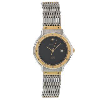 Hublot Geneve/mdm Klassischen Senyora Stahl & Gold Quarz Uhr - Der Frauen Bild