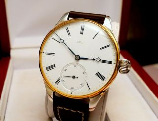 Glashuette Julius Assmann Watch Silber Gold Bild