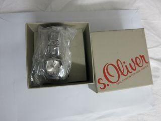 S.  Oliver Damen - Armbanduhr Analog Edelstahl So - 2341 - Mq,  Ovp Bild