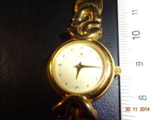 Junghans Quarz Damenuhr Goldfarben Bild
