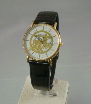 Longines La Grande Classique Herrenuhr Gold L4.  743.  6 25 Jahre Rossmann Bild