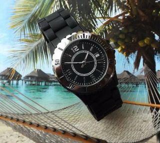 Uhr Mit Silikon - Armband Bild