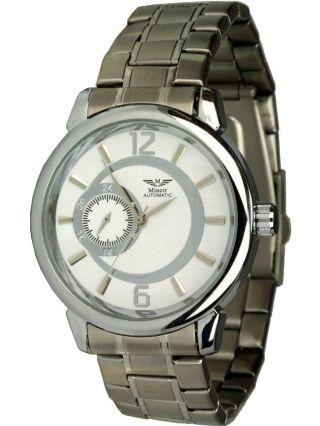 Minoir Uhren - Modell Sens Silber - Automatikuhr,  Unisexuhr Ø 40 Mm Bild