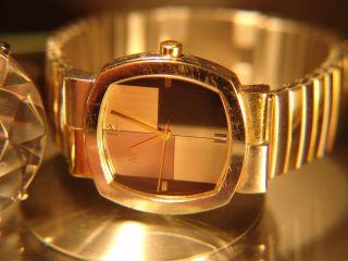 Armbanduhr Mc Ca.  3,  Cm Ø,  Mit Flexibel Armband Slber/gold Farbe Bild