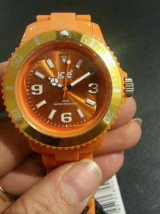 Ice Watch Uhr Orange Unisex Bild