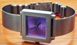 Aristo 7d18 Elegante Quartz Damenuhr Stahl Spangenband Uhr Watch Bild