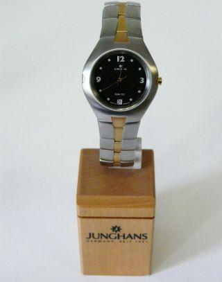 Junghans Damen Armbanduhr 014/4301.  44 Solar Tec,  10 Bar Wr, Bild