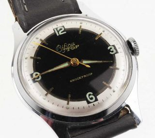 Bifora Top Bauhaus Watch Damen Herren 1950 Handaufzug Lagerware Nos Vintage 56 Bild