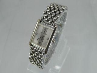 Maurice Lacroix 32536 Damen Uhr Saphirglas Edelstahl Goldplated G10 Armbanduhr Bild