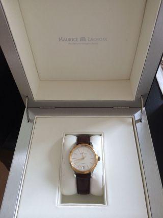 Neue Maurice Lacroix Les Classiques Date Automatique Lc6016 - Ys101 - 130 Bild