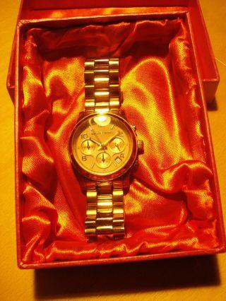 Topaktuelle Michael Kors Damenarmbanduhr Rose - Goldfarben Bild