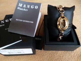 Sehr SchÖne Damen Luxus Armbanduhr Von Mango Mit Etikett Bild
