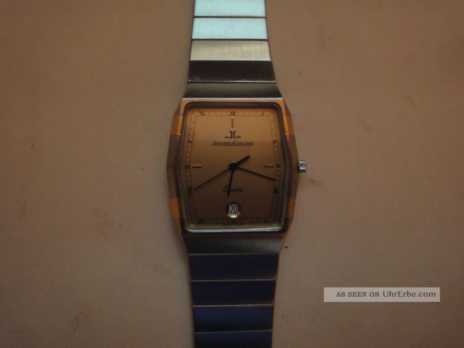 Jaeger - Lecoultre Stahl/gold Quartz. Armbanduhren Bild