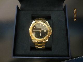 Festina Damen Uhr 16682/5 Sport Trend Datum Vergoldet Np 129€ Bild