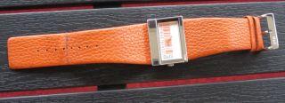 D&g Damen Uhr Lederband Orange Bild
