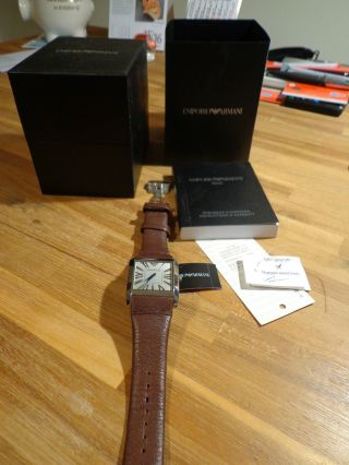 Emporio Armani Damen Armbanduhr Bild