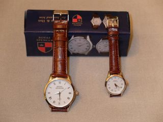 Royal Spencer Uhr Partnerset Herrenuhr Damenuhr Bild
